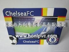 PVC软胶卡通相框
