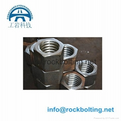 hex nut for steel anchor bolts