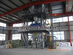 Fire extinguisher dry powder production line