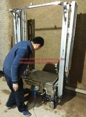 Cement Mortar putty wall Plaster Machine