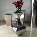 不鏽鋼仿真花瓶