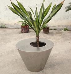 不鏽鋼花盆