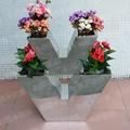 不鏽鋼花盆V字形