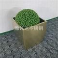 不鏽鋼方形花盆 3