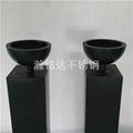 黑色烤漆花盆 2