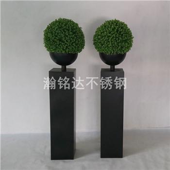 黑色烤漆花盆 1