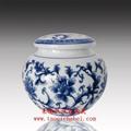 青花瓷茶葉罐 3