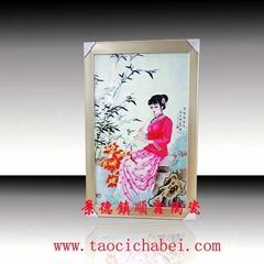 景德鎮高溫瓷像瓷板畫