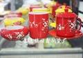 商務會議禮品陶瓷茶杯三件套 2