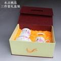 办公文化礼品陶瓷茶杯烟灰缸笔筒套装 4