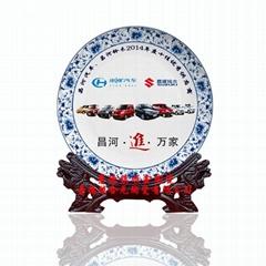 纪念品陶瓷圆盘