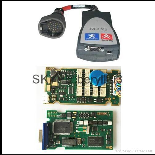 Lexia 3 with firmware 921815C pp2000 diagbox 7 76 software Citroen