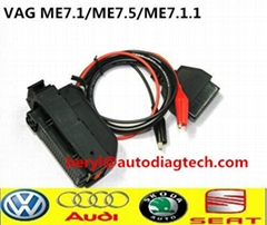 ME7.1 ME7.5 ME7.1.1 ECU Cable for Chiptuning rimappaggio VW AUDI SEAT SKODA
