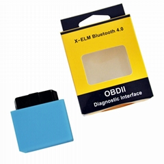 Mini Elm327 Bluetooth OBD2 4.0 Elm 327 OBD 2 Car Diagnostic-Tool Scanner