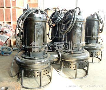 耐磨潜水泥砂泵  2