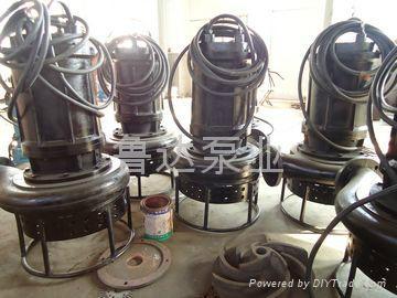 耐磨潜水泥砂泵  3