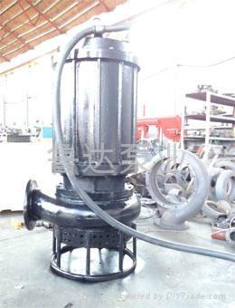 耐磨潜水泥砂泵  4