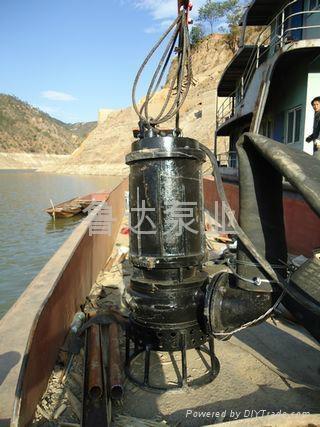 耐磨潜水泥砂泵  5