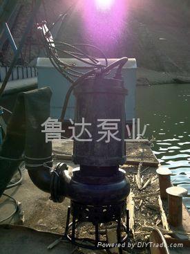 莱芜鲁达耐磨泥浆泵 5