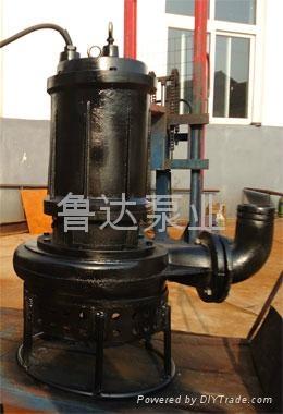 莱芜鲁达高效煤渣泵 4