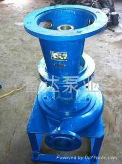 管道式耐磨增压泵  1