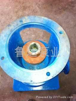 管道式耐磨增压泵  4