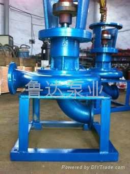 管道式耐磨增压泵  5