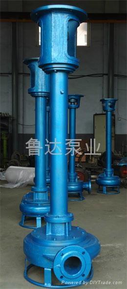 鲁达耐磨立式泥砂泵 5