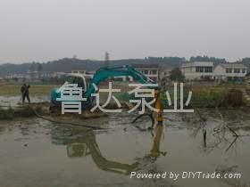 挖掘机液压泥砂泵  4