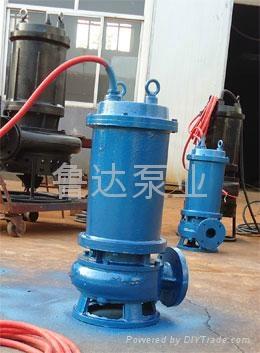 莱芜鲁达无堵塞污水泵  1