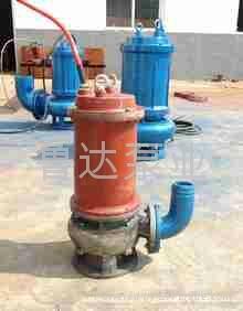 莱芜鲁达无堵塞污水泵  3