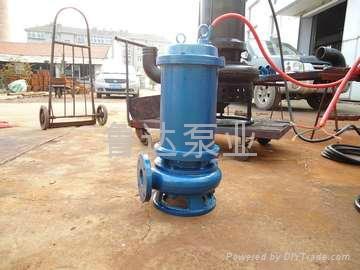 莱芜鲁达无堵塞污水泵  4