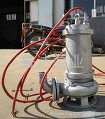 耐高温耐腐蚀潜污泵