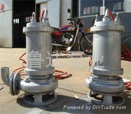 耐高温耐腐蚀潜污泵  3