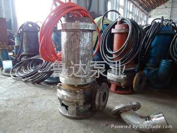耐高温耐腐蚀潜污泵  4