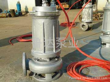 耐高温耐腐蚀潜污泵  5