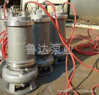 莱芜鲁达不锈钢潜污泵 1