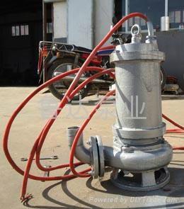 莱芜鲁达不锈钢潜污泵 2
