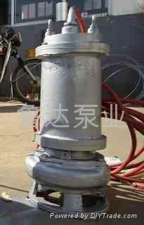 莱芜鲁达不锈钢潜污泵 3