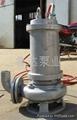 莱芜鲁达不锈钢潜污泵 4