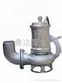 莱芜鲁达不锈钢潜污泵 5