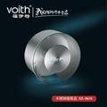 福伊特圓形鋼化玻璃卷紙盒VT-
