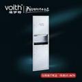 福伊特圆形钢化玻璃卷纸盒VT-8631福伊特品牌 2