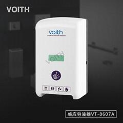 廠家直銷鏡后皂液器挂牆式感應皂液器VT-8603D