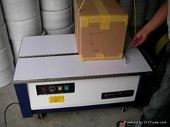 台式半自动PP带纸箱捆扎机