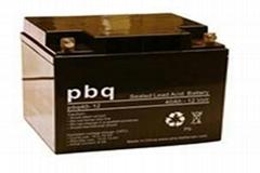 荷兰PBQ蓄电池12V5.2AH报价/规格