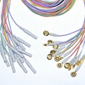 Coated gold cup EEG Electrodes