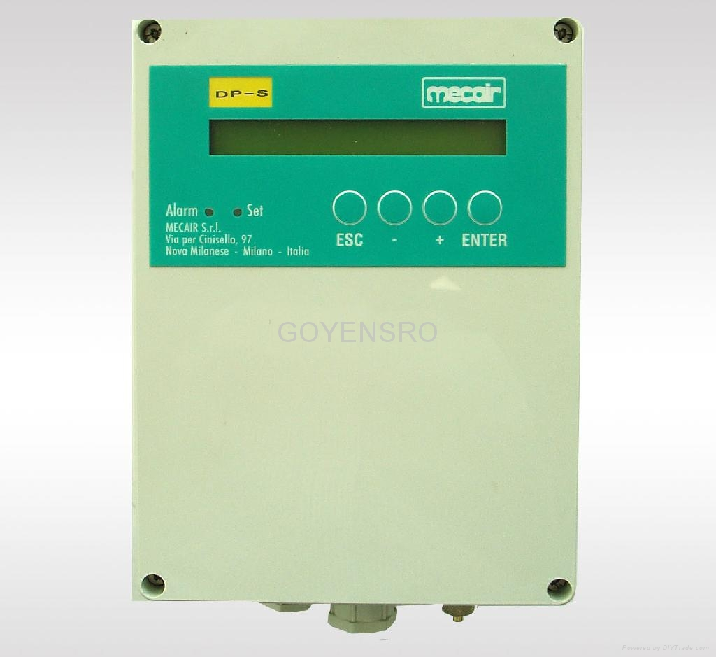 Dps differential pressure controller china manufacturer mecair ccuart Gallery