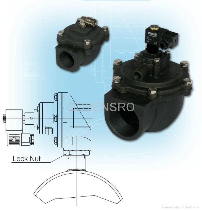 Mecair 200 Series Diaphragm Valves