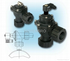 Mecair 300 Series Diaphragm Valves